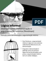 Distinção Entre Arg e Demonst - Perelman