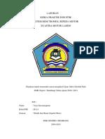 Laporan PKL tentang Rem Tromol,Teknik Sepeda Motor