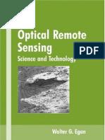 Optical Remote Sensing