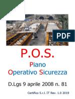 Modello POS Compilabile - Rev. 1.0 2019 Preview