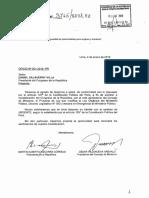 Proyecto de Ley Que Declara en Emergencia Al MP