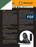 Regulamento Photo Finish Continental São Silvestre
