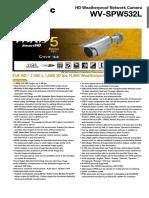Wv-spw532l Spec Sheet