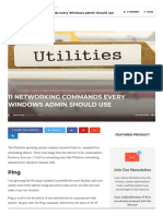 11 Networking Commands Every Windows Admin Should Use