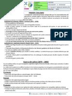 SEPARATA N°23 A. INTENSIVO - PRIMER CIVILISMO - GUERRA DEL SALITRE