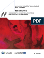 Manual de Oslo 2018 4ta. Ed - En