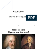 Class 1 Why We Need Regulation
