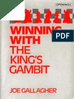 (Batsford chess book) Joe Gallagher - Winning with the king's gambit-B.T. Batsford  (1992).pdf