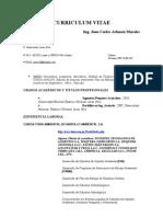 Curriculum Vitae Arhuata Morales, Juan c.2