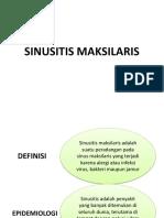 Sinusitis Maksilaris Ppt