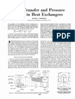 Heat Transfer and Pressure Drop in Heat Exchanger