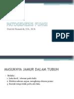 Patogenesis Fungi
