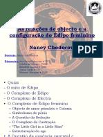 Trabalho - Psicologia Dinamica Do Desenvolvimento - As Relações de Objecto e a Configuração Do Édipo Feminino