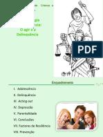 Trabalho - Psicopatologia Da Adolescência - O Agir e a Delinquência