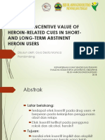 Sustained incentive value of heroin-related cues in short- and long-term abstinent heroin users - Copy.pptx