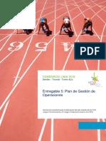8. Entregable 5 - Plan de Gestión_OPERACIONES