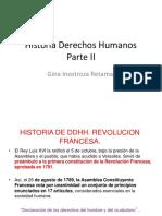 Historia Derechos Humanos Parte II