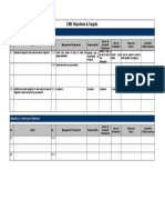 Objectives & Targets Template_0