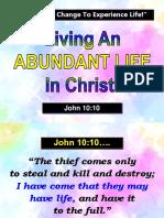 abundant life.ppt