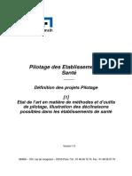 Connaitre Les Methodes Et Outils de Pilotage de La Performance en Etablissement de Sante