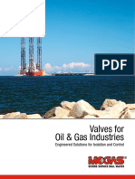 Brochure - Valves for Oil & Gas Industries (en).