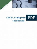 Edk II c Coding Standards Specification