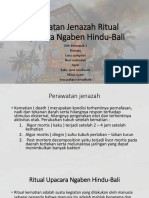 Perwatan Jenazah Ritual Upacara Ngaben Hindu-Bali