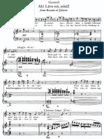 Ah! Léve-Toi Soleil - Gounod