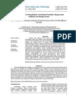 Analisis PH Dan Pengadukan Terhadap Produksi Bioga