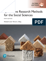 Berg, Bruce Lawrence; Lune, Howard Qualitative Research Methods for the Social Sciences