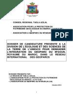 Géoparc-Mgoun UNESCO 2013