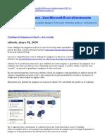 JLD Excel en Castellano-Usar Excel Eficientemente