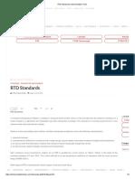 RTD Standards