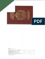 Pasaporte  Alex Eduardo Martinez