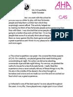 CAS Portfolio