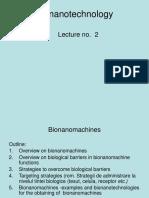 Bionanotechnology_curs2_2018