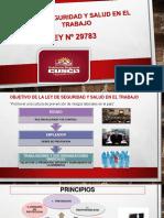 Diapositivas Salud y Seguridad en El Trabajo