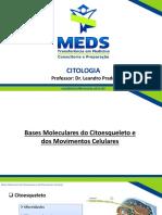 Aula 7 - Bases Moleculares do Citoesqueleto e dos Movimentos Celulares.pptx