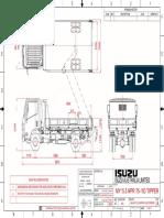 Nh My15.5 Npr 75-190  truck Tipper