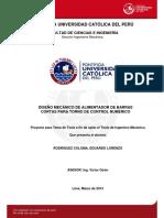 Rodriguez Eduardo Diseño Mecanico Alimentador Barras Torno Control Numerico