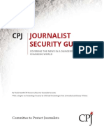 Journalist Security Guide - CPJ