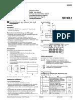 SEH62.1 Installation Instruction Xx de en Fr It Es Nl