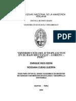 Enrique_tesis_maestría_2004 Distribución Del Ictioplancton Del Bajo Nanay