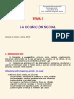 Tema 2. Cognición Social