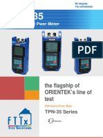 tpn-35 optical power meter