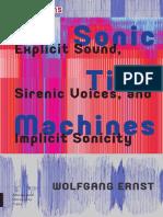Wolfgang Ernst Sound