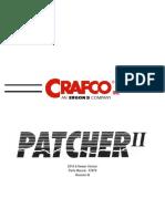 PATCHER II CRAFCO