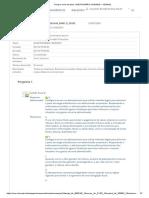 Planejamento Contabil - Questionário Unidade i