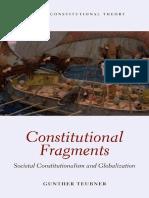 TEUBNER - Constitutional Fragments