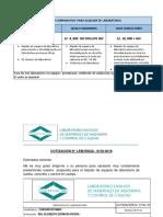 Cuadro Comparativo Para Alquiler de Laboratorio en Obra